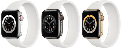 Modèles Apple Watch 6