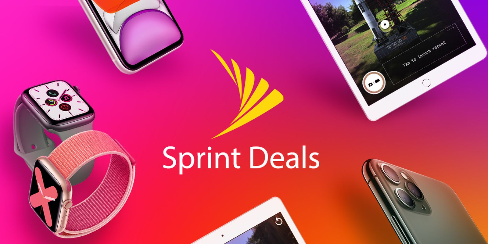 Deals Spotlight Sprint Offers Savings On Iphone Xr Iphone 11 10 2 Inch Ipad And Apple Watch Series 5 Macrumors