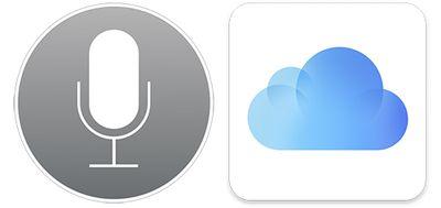 Siri-iCloud-icons