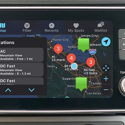 carplay chargepoint