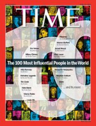 time 2012 influential cover
