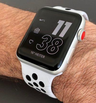 apple watch nike series 3 lte