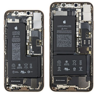 ifixit teardown iphone xs iphone xs max
