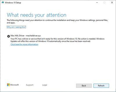 windows 10 issue