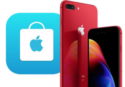 iphone 8 product red apple store