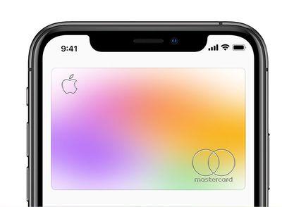 Apple Card on iPhone screen