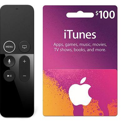 apple tv 4k itunes gift card deal