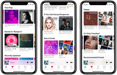 apple music for you 2019 update