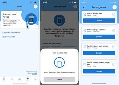 smart navigo card paris scan