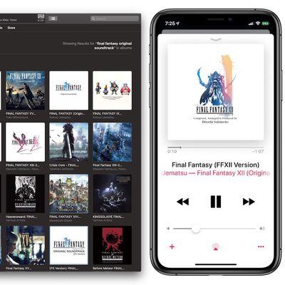 final fantasy apple music