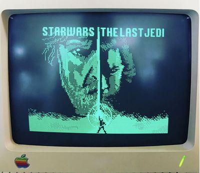star wars old apple