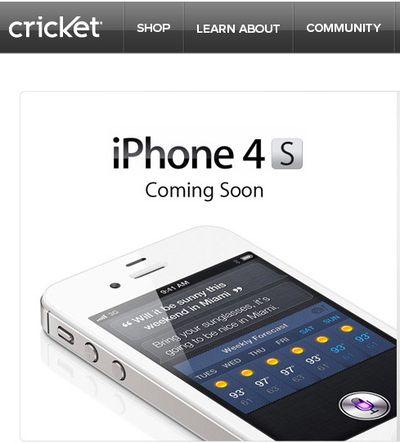 cricket iphone