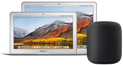 macbook air homepod