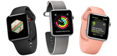apple watch series 3 trio