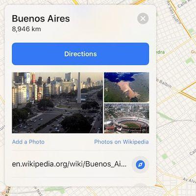 apple maps traffic argentina
