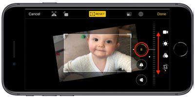 video editing tools in iOS 13