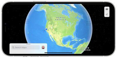 ios 15 maps globe view