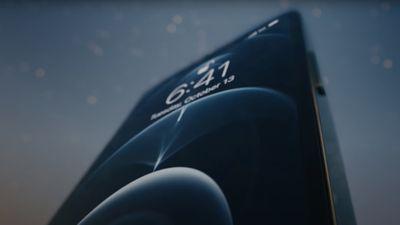 iphone 12 pro display video