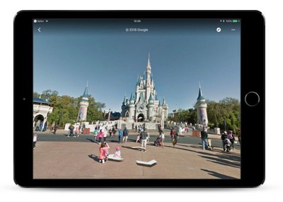 google maps disney
