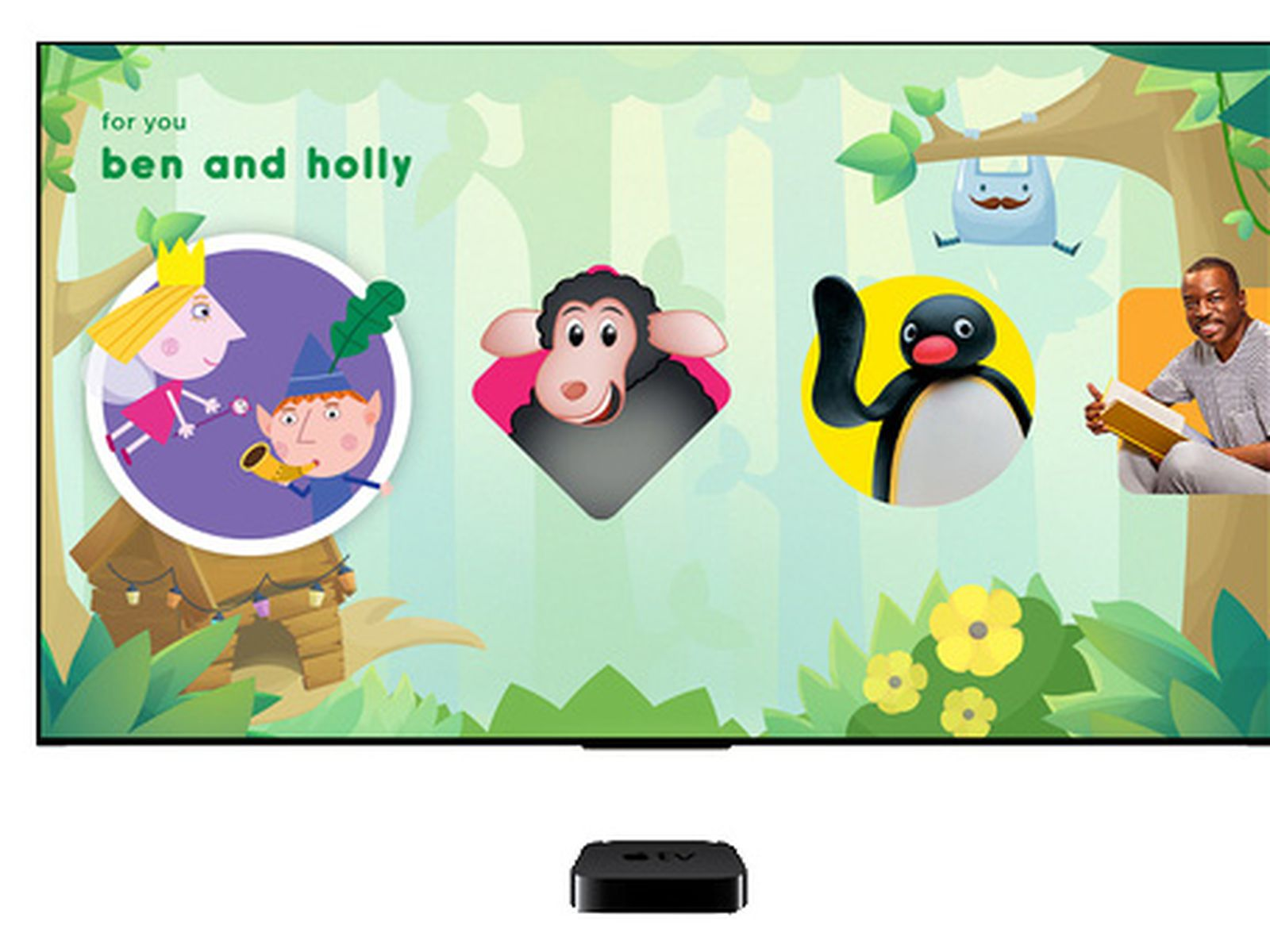 Apple Tv Search Now Supports Kids App Hopster In United States Macrumors