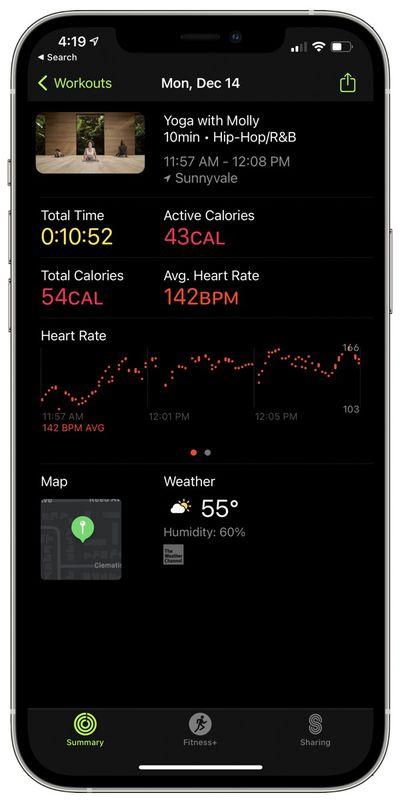 apple fitness plus complete summary