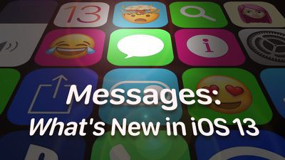 messages iOS 13