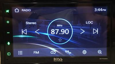 boss carplay radio