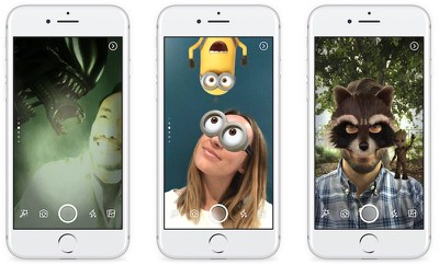 facebook camera filters