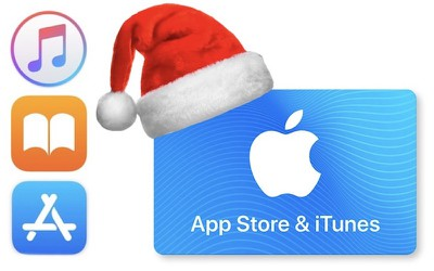 itunes santa card and apps