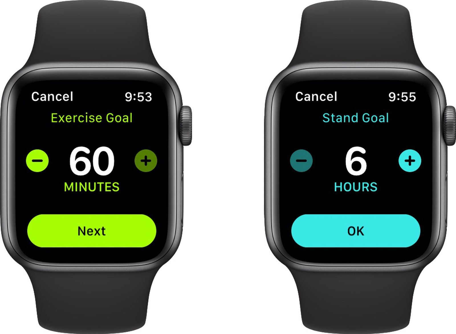 photo of watchOS 7 Lets You Customize Stand Hours and Exercise Minutes image