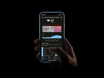 dark sky ios dark mode