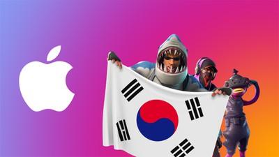 fortnite apple logo south korea feature