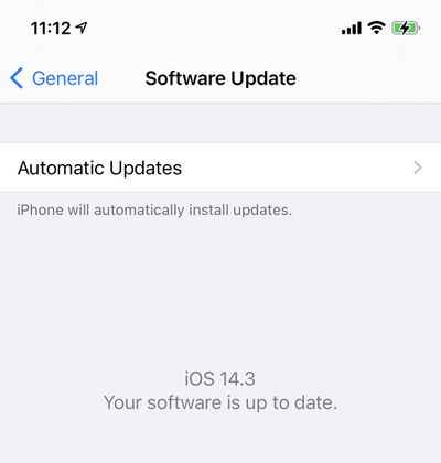 software up to date