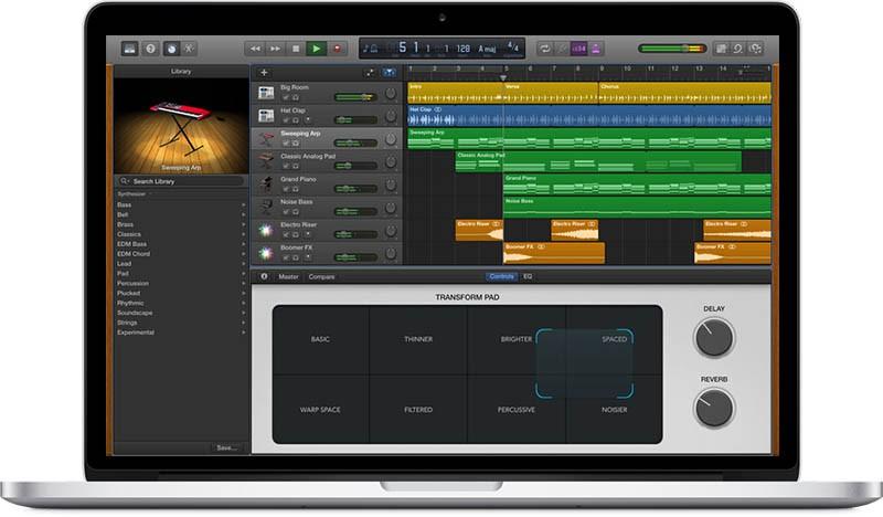 GarageBand OS X