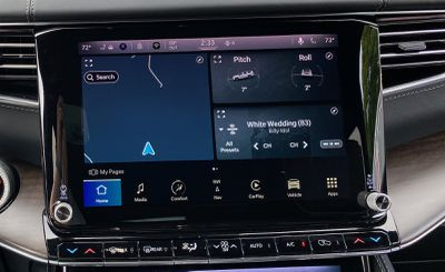 2022 wagoneer uconnect home