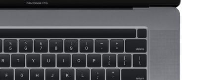 16 Inch MacBook Pro Touch ID Touch Bar
