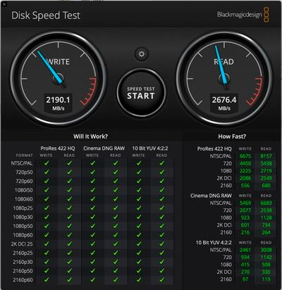 apple silicon macbook air ssd benchmarks