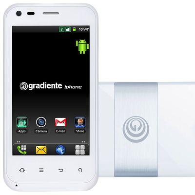 gradiente iphone white