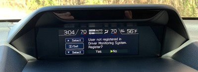 subaru forester driverfocus register