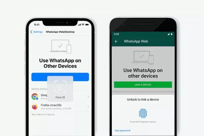 whatsapp link account