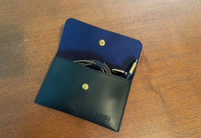 anker gold cable pouch open