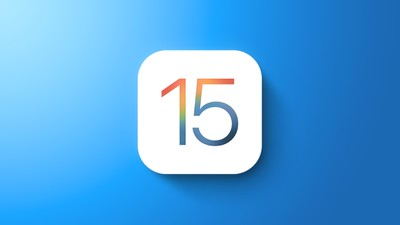 iOS 15 General Feature Blue