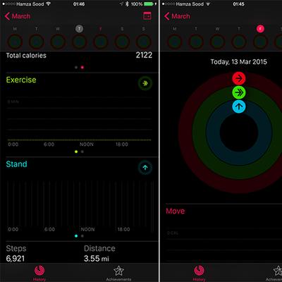 Activity iOS 8