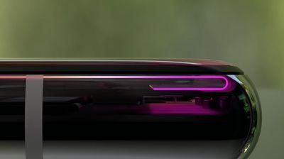 iphone x flexible oled display