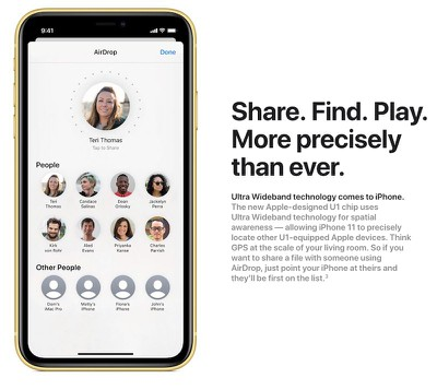 iphone 11 u1 chip