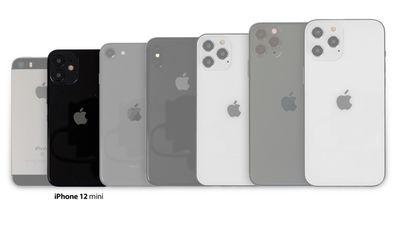iPhone 12 mini lineup