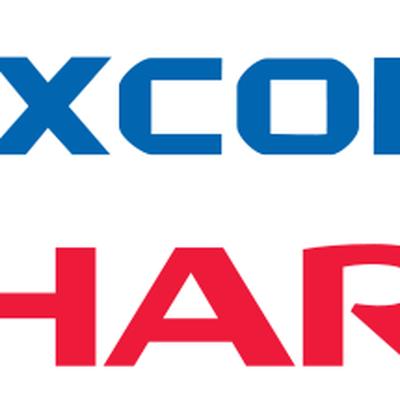 foxconn sharp logos