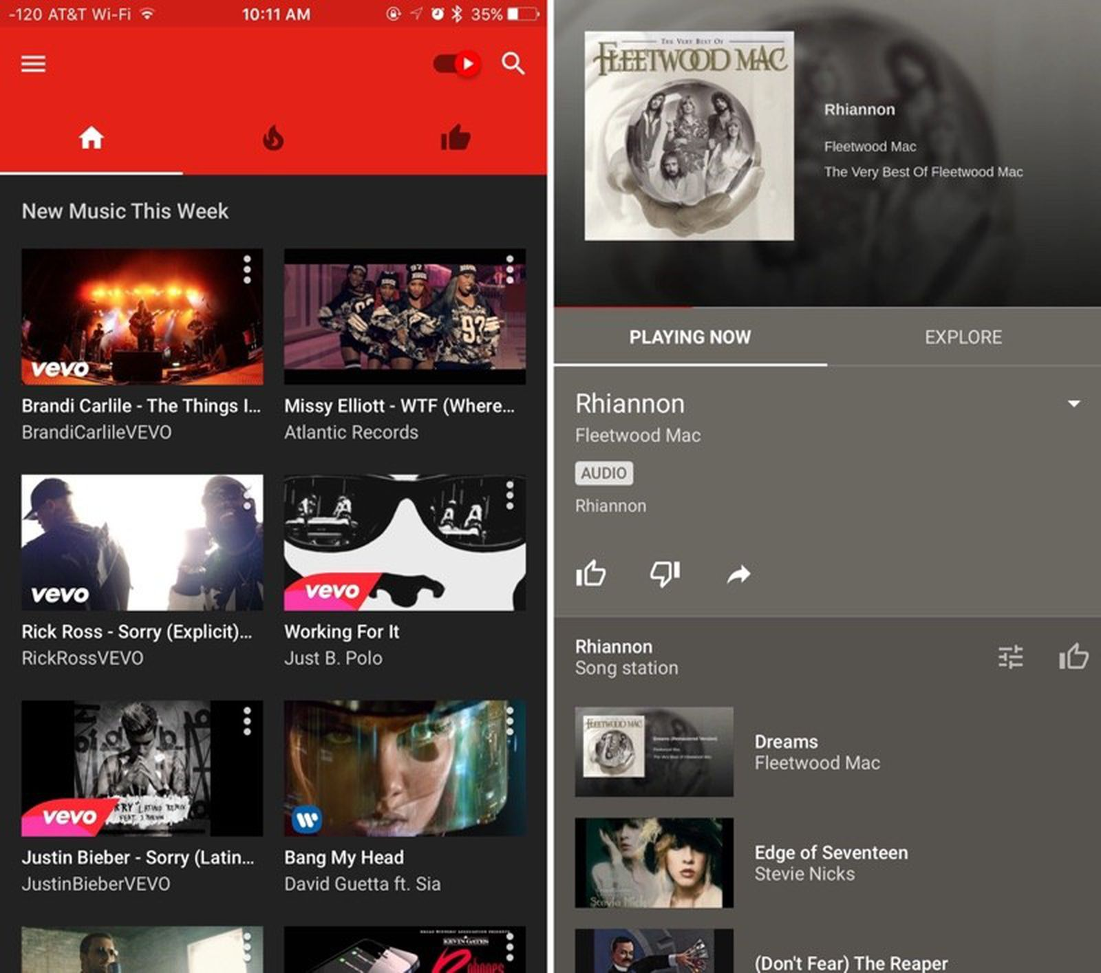 Youtube Launches New Youtube Music Service And Ios App Macrumors