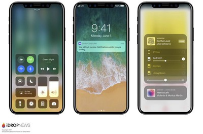 iphone 8 renders ios 11