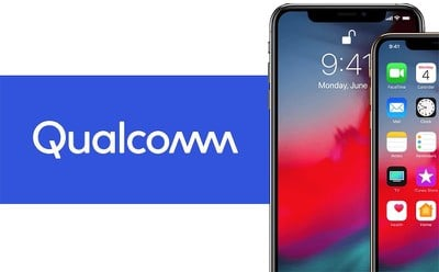 qualcomm iphone xs